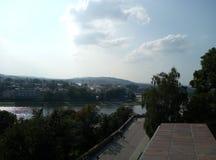 Europa, architettura, città, vecchie costruzioni, Cracovia fotografie stock libere da diritti