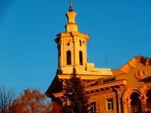 Europa, arquitetura da cidade da construção do dia do mundo Imagens de Stock Royalty Free