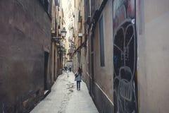 Europa, Barselona, Spain. Old Building in Barcelona. Spain Stock Image