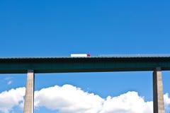 Europa-Brücke an der Brenner Datenbahn Lizenzfreie Stockfotografie