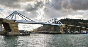 Europa Bridge. Barcelona. Spain Royalty Free Stock Images
