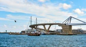 Europa Bridge. Spain Royalty Free Stock Photos
