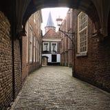 Europa, cerámica de Delft imagen de archivo