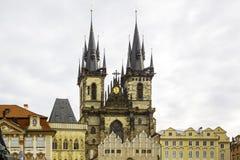 Europa; Checo; igreja; república; construção; arquitetura; religio Imagem de Stock Royalty Free