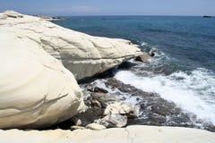 Europa, Chipre, la playa del ` s del gobernador fotografía de archivo