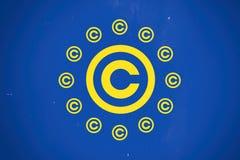 Europa copyright-regler arkivfoton