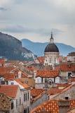 Europa Croatia Dubrovnick stary miasteczko Zdjęcie Stock