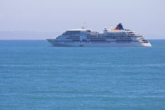Europa Cruise Liner In Mossel Bay Stock Photo