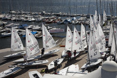 Europa cup lugano 2012 Royalty Free Stock Image