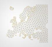 Europa 3D Foto de archivo libre de regalías