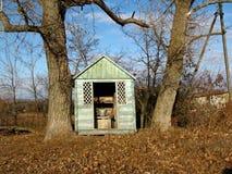 europa De Oost-Oekraïne Oud dorp goed De lente van 2012 Royalty-vrije Stock Foto's