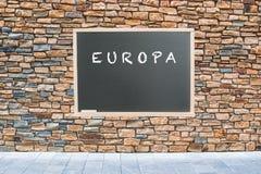 Europa dla pokoju Zdjęcie Royalty Free