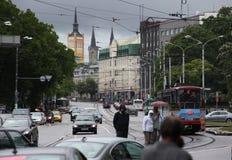 EUROPA ESTLAND TALLINN Arkivbild