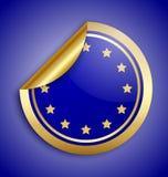 Europa etikettsunion Arkivfoto