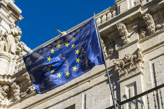 Europa eu flag Stock Images