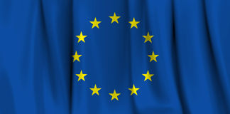 Europa flag Stock Image