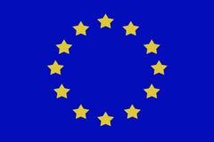 Europa flaga pokój między kraju tła ludźmi ilustracja wektor
