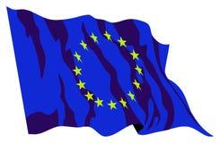 Europa-Flagge stockfotos