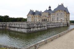 Europa, França, Seine-et-Marne (77), Vaux-le-Vicomte Castelo - tiro agosto de 2015, inspiração para o castelo Versaille Imagens de Stock Royalty Free