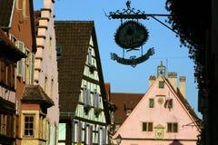 EUROPA FRANKRIJK DE ELZAS Royalty-vrije Stock Afbeelding