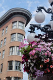 Europa gastownhotell vancouver Arkivbilder
