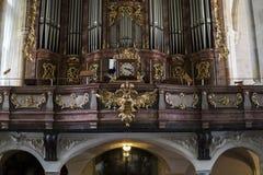 europa Graz Áustria setembro de 2018 Vista interior da catedral de St Catherine em Graz imagem de stock royalty free