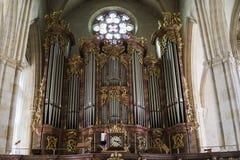 europa Graz Áustria setembro de 2018 Vista interior da catedral de St Catherine em Graz foto de stock royalty free