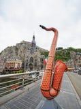 Europa het festival van de Saxofoonmuziek Stock Foto