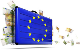 Europa hjälp vektor illustrationer