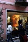 EUROPA ITALIË LAGO MAGGIORE Stock Foto