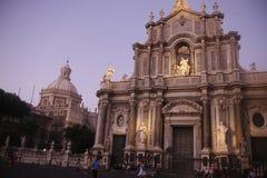EUROPA ITALIË SICILIË Royalty-vrije Stock Afbeeldingen