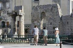 EUROPA ITALIË SICILIË Stock Foto's