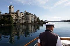 EUROPA ITALIEN LAGO MAGGIORE Lizenzfreies Stockbild