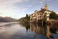 EUROPA ITALIEN LAGO MAGGIORE Lizenzfreies Stockfoto