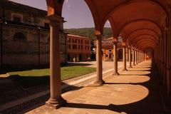 EUROPA ITALIEN LAGO MAGGIORE stockbild