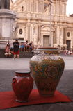 EUROPA ITALIEN SICILIEN Arkivfoto
