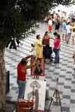EUROPA ITALIEN SICILIEN Fotografering för Bildbyråer