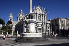 EUROPA ITALIEN SICILIEN Royaltyfri Bild