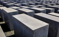 Europa jewsminnesmärke som mördas till Arkivfoton