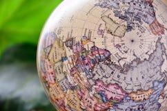Europa jordklot arkivbild