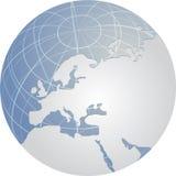 Europa jordklot Royaltyfria Foton
