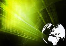 Europa-Karte Technologieart Gestaltungsarbeit stock abbildung