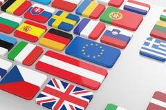 Europa-Konzept vektor abbildung