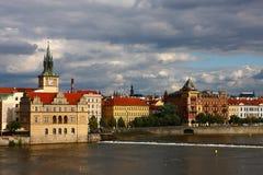 Europa landmarks prague royaltyfria foton