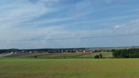 Europa-Landschaftshintergrund Stockfotografie