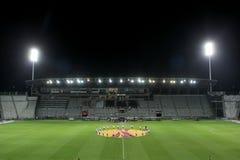 Europa League Anthem Stock Photo