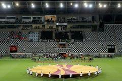 Europa League Anthem Royalty Free Stock Photo