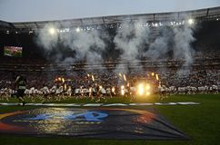 Europa League Final opening ceremony Royalty Free Stock Images