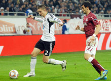 EUROPA LEAGUE: RAPID BUCHAREST-LEGIA WARSAW Stock Image