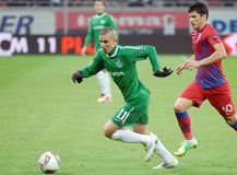 EUROPA LEAGUE: STEAUA BUCHAREST-MACCABI HAIFA Stock Photo